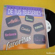 Discos de vinilo: LP LAS CANCIONES DE TUS TELESERIES - WILLIE COLON - FRANCO DE VITA - M-/M- Ç. Lote 210837782