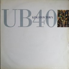 Discos de vinilo: UB40 ‎– KINGSTON TOWN, DEP INTERNATIONAL DEP 35-12, DEP 3512, 613 085-213. Lote 210839395