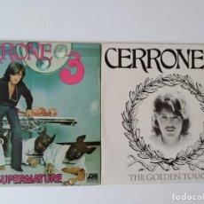 Discos de vinilo: 2 DISCOS DE CERRONE. Lote 210840359