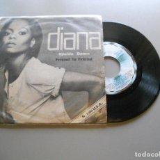 Discos de vinilo: DIANA ROSS – UPSIDE DOWN - SINGLE 1980 VG++/VG+. Lote 210840979
