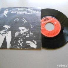 Discos de vinilo: DENNY LAINE – JAPANESE TEARS - SINGLE 1981 EX/EX (WINGS-PAUL MCCARTNEY). Lote 210841789