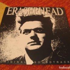 Discos de vinilo: ERASERHEAD CABEZA BORRADORA BSO LP DAVID LYNCH FATS WALLER REEDICIÓN VINTAGE USA. Lote 210842831