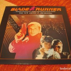 Discos de vinilo: BLADE RUNNER BSO LP VANGELIS NEW AMERICAN ORCHESTRA RIDLEY SCOTT REEDICIÓN VINTAGE. Lote 210843259