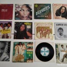Disques de vinyle: VARIOS - LOTE 12 SINGLES 7'' FUNK, SOUL, DISCO. Lote 210845180