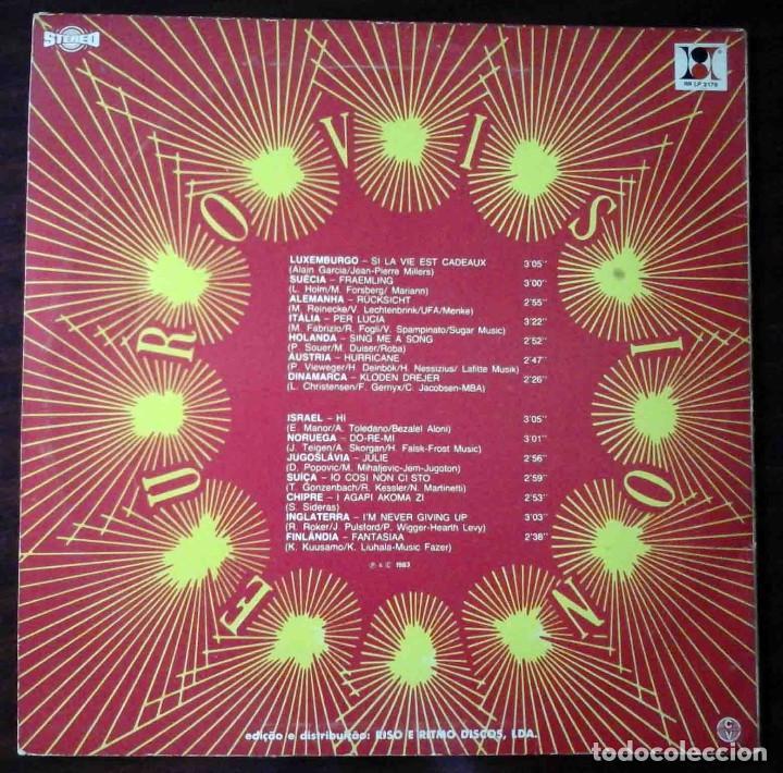 Discos de vinilo: LP Eurovision 1983 (Luxemburgho, Israel, Suecia...) - Foto 2 - 210933485