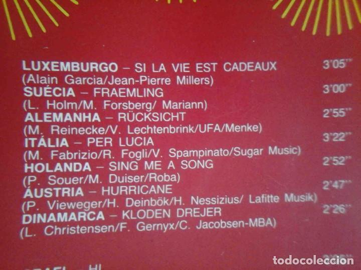 Discos de vinilo: LP Eurovision 1983 (Luxemburgho, Israel, Suecia...) - Foto 3 - 210933485