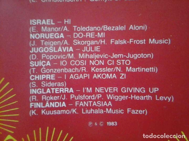 Discos de vinilo: LP Eurovision 1983 (Luxemburgho, Israel, Suecia...) - Foto 4 - 210933485