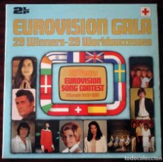 Discos de vinilo: 2 LP EUROVISIONN GALA - 25 AÑOS DE EUROVISIÓN - WINNERS 1956 - 1981. Lote 210933952