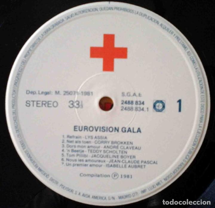 Discos de vinilo: 2 LP Eurovisionn Gala - 25 años de Eurovisión - Winners 1956 - 1981 - Foto 5 - 210933952