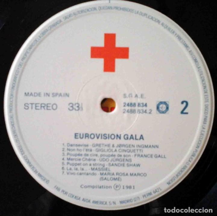 Discos de vinilo: 2 LP Eurovisionn Gala - 25 años de Eurovisión - Winners 1956 - 1981 - Foto 6 - 210933952