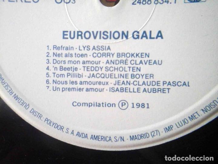 Discos de vinilo: 2 LP Eurovisionn Gala - 25 años de Eurovisión - Winners 1956 - 1981 - Foto 7 - 210933952