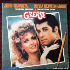 Discos de vinilo: 2 LP GREASE B.S.O. ORIGINAL 1978 - PORTADA ABIERTA. IMPECABLE.. Lote 210936607