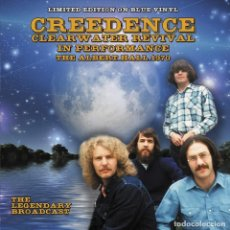 Discos de vinilo: CREEDENCE CLEARWATER REVIVAL - IN PERFORMANCE, THE ALBERT HALL 1970 | LIMITED EDITION ON BLUE VINYL. Lote 210937021