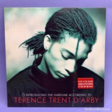 Discos de vinilo: LP INTRODUCING THE HARDLINE ACCORDING TO TERENCE TRENT D'ARBY - VG++ - MADRID 1987. Lote 210937545