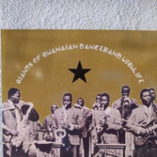 Discos de vinilo: GIANTS OF GHANAIAN DANCEBAND HIGHLIFE. LP VINILO PRECINTADO. AFROBEAT.. Lote 210941092