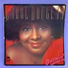 Discos de vinilo: LP CAROL DOUGLAS - BUZNIN' - BARCELONA 1978 - VG+. Lote 210942005