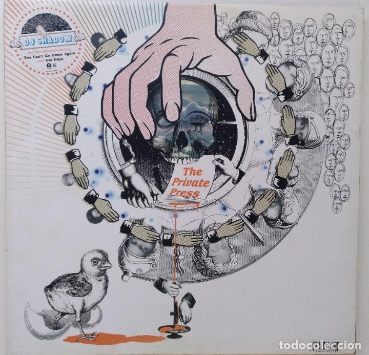 """DJ SHADOW - THE PRIVATE PRESS [US HIP HOP / ELECT] [EDICIÓN EXCLUSIVA ORIGINAL 2LP 12"""" 33RPM] [2002] (Música - Discos - LP Vinilo - Rap / Hip Hop)"""