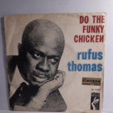 Discos de vinilo: RUS THOMAS -DO THE FUNKY CHIKEN. Lote 210943205