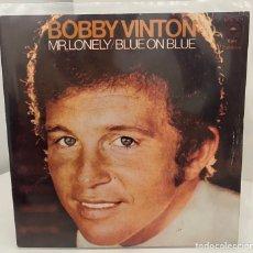 Discos de vinilo: BOBBY VINTON-MR.LONELY/BLUE ON BLUE/SINGLE 1973 EPIC, ESPAÑA. Lote 210943686