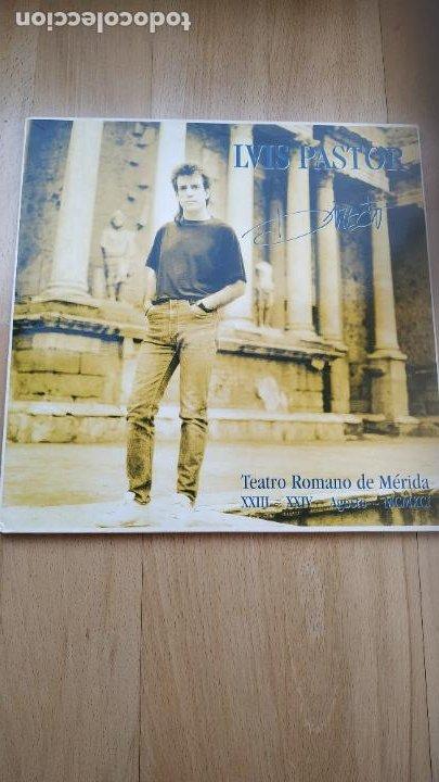 VINILO DOBLE LUIS PASTOR – DIRECTO. TEATRO ROMANO DE MÉRIDA XXIII - XXIV AGOSTO MCMXCI (Música - Discos - LP Vinilo - Cantautores Españoles)