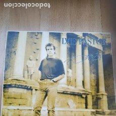 Discos de vinilo: VINILO DOBLE LUIS PASTOR – DIRECTO. TEATRO ROMANO DE MÉRIDA XXIII - XXIV AGOSTO MCMXCI. Lote 210945240