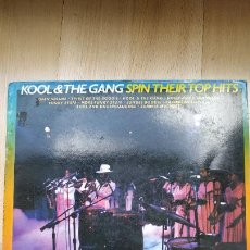 Discos de vinilo: LP VINILO KOOL & THE GANG ‎– SPIN THEIR TOP HITS. Lote 210945529