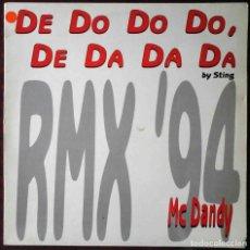 Discos de vinilo: DE DO DO DO DE DA DA DA - MC DANDY. Lote 210945865