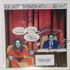 """Discos de vinilo: DJ ROB SWIFT - INTERVIEW WHITH COLORED MAN [HIP HOP / SCRATCH ] [ORIGINAL LP 12"""" 33RPM] [2002]. Lote 210945936"""