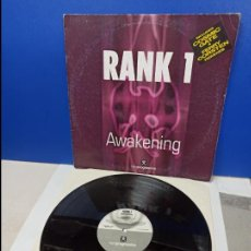 Discos de vinilo: MAXI SINGLE DISCO VINILO - RANK 1 - AWAKENING. Lote 210946551