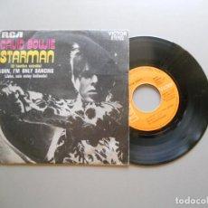 Discos de vinilo: DAVID BOWIE – STARMAN SINGLE 1978 VG++/VG+. Lote 210947552