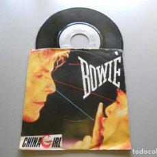 Discos de vinilo: DAVID BOWIE – CHINA GIRL - SINGLE ED. ALEMANIA VG++/VG+ 1983. Lote 210947792