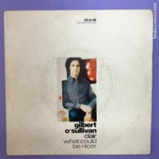 Discos de vinilo: SINGLE GILBERT O'SULLIVAN- CLAIR WHAT COULD BE NICER - MADRID 1972 - VG+. Lote 210948160