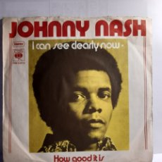 Discos de vinilo: JOHNNY NASH-I CAN SEE CLEARLY NOW. Lote 210948544