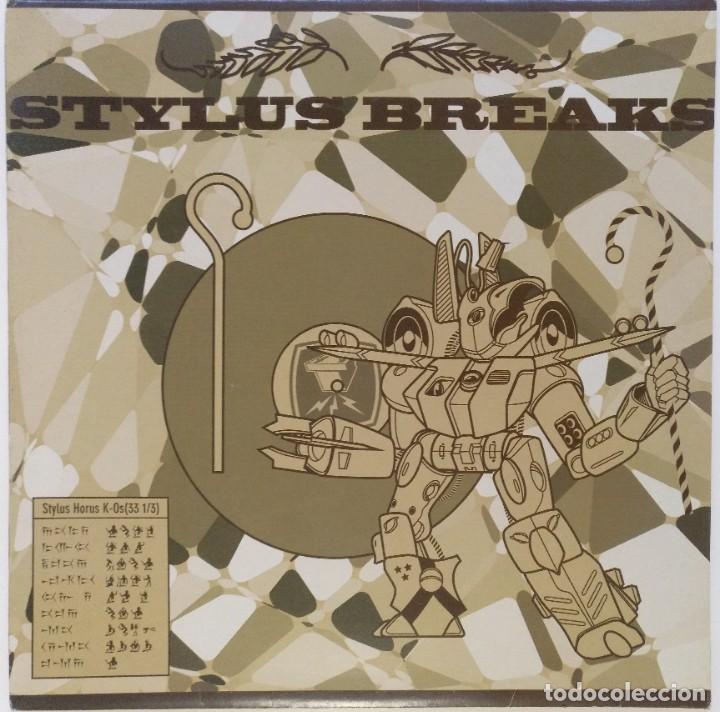 "NOISY STYLUS -STYLUS BREAKS [GERMANY HIP HOP / SCRATCH / TURNTABLISM] [ORIGINAL LP 12"" 33RPM] [2002] (Música - Discos - LP Vinilo - Rap / Hip Hop)"