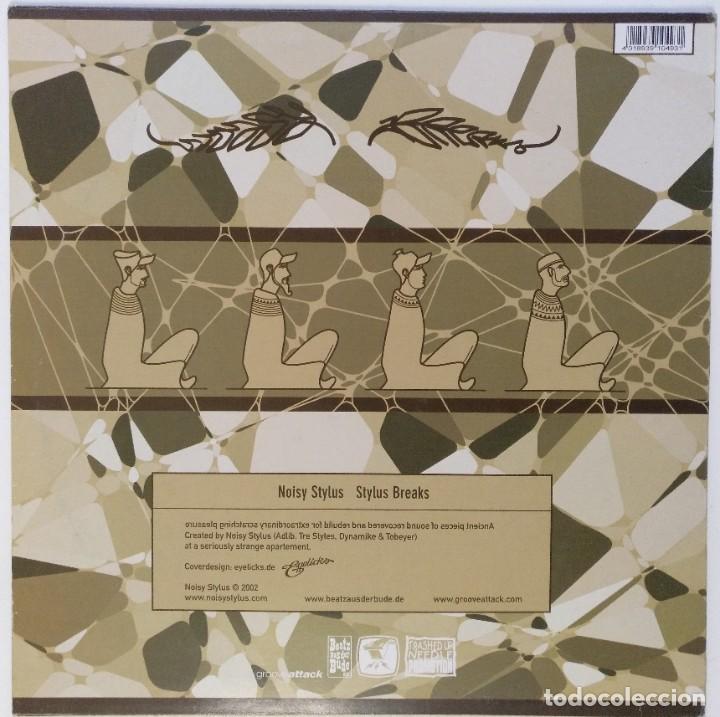 "Discos de vinilo: NOISY STYLUS -STYLUS BREAKS [GERMANY HIP HOP / SCRATCH / TURNTABLISM] [ORIGINAL LP 12"" 33RPM] [2002] - Foto 3 - 210948562"
