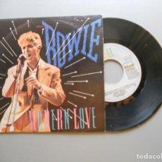 Discos de vinilo: DAVID BOWIE – MODERN LOVE - SINGLE 1983 - VG++/VG++. Lote 210949141