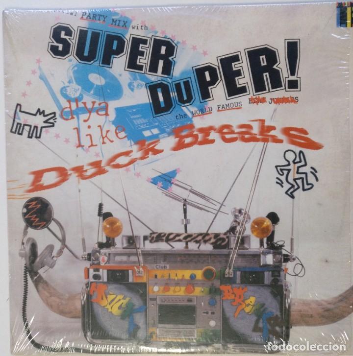 """THE TABLIS - SUPER DUPER! DUCK BREAKS [HIP HOP / SCRATCH / TURNTABLISM][ORIGINAL LP 12"""" 33RPM][2000] (Música - Discos - LP Vinilo - Rap / Hip Hop)"""