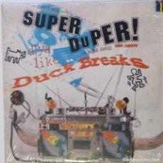 """Discos de vinilo: THE TABLIS - SUPER DUPER! DUCK BREAKS [HIP HOP / SCRATCH / TURNTABLISM][ORIGINAL LP 12"""" 33RPM][2000]. Lote 210949415"""