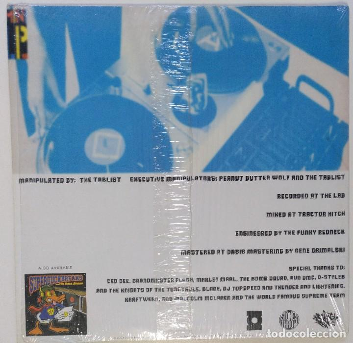 """Discos de vinilo: THE TABLIS - SUPER DUPER! DUCK BREAKS [HIP HOP / SCRATCH / TURNTABLISM][ORIGINAL LP 12"""" 33RPM][2000] - Foto 2 - 210949415"""