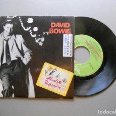 Discos de vinilo: DAVID BOWIE – ABSOLUTE BEGINNERS - SINGLE VG++/VG++ 1986. Lote 210949484