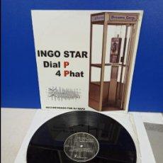 Discos de vinilo: MAXI SINGLE DISCO VINILO - INGO STAR - DIAL P 4 PHAT. Lote 210950011