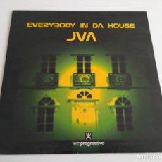 Discos de vinilo: JVA - EVERYBODY IN DA HOUSE. Lote 210950231