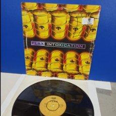Discos de vinilo: MAXI SINGLE DISCO VINILO - FLAX - INTOXICATION. Lote 210950930