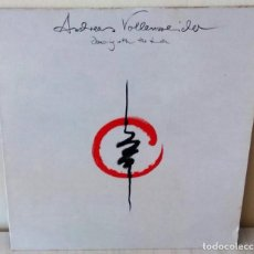 Discos de vinilo: ANDREAS VOLLENWEIDER - DANCING WITH THE LION CBS - 1989. Lote 210951429