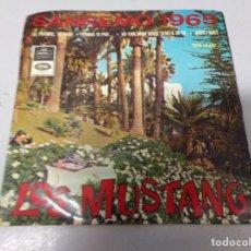 Discos de vinilo: LOS MUSTANG DISCO EP SANREMO 1965 EMI. Lote 210952272
