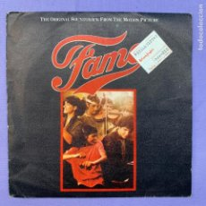 Dischi in vinile: SINGLE FAMA - THE ORIGINAL SOUNDTRACK FROM THE MOTION PICTURE -MADRID 1983 VG++. Lote 210953222