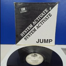 Discos de vinilo: MAXI SINGLE DISCO VINILO - SYSTEM ACTIVATE - JUMP. Lote 210954577