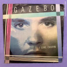 Discos de vinilo: SINGLE GAZEBO - I LIKE CHOPIN - VG+ MADRID 1983. Lote 210955026