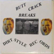 """Discos de vinilo: BUTCHWAX - BUTTCRACK BREAKS [HIP HOP / SCRATCH / TURNTABLISM] [PRIMERA EDICIÓN LP 12"""" 33RPM] [2001]. Lote 210957714"""
