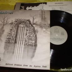 Discos de vinilo: GALADRIEL. MUTTERED PROMISES FROM AN AGELESS POND. DAGA DISCOS, 1988. CON INSERT. IMPECABLE (#). Lote 210957900